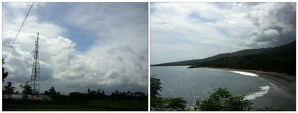 Skies on Lombok